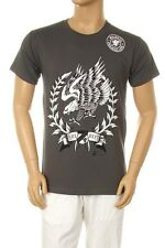 New Mens Printed American Eagle Graphic Design Grey Soft Cotton T-shirt S ~ 2XL
