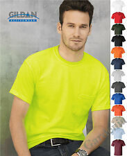Gildan Ultra Cotton  2300 T-Shirt with a Pocket 100% Cotton tee