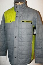 NEW MEN'S HURLEY COVERT SHREDDED  PUFER JACKET COAT SIZE S M L XL  MSRP $89