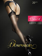 "Fiore ""MARLENA"" Back Seam Effect Stockings 20 Denier Stockings"
