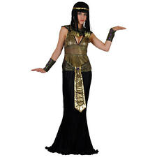 Luxury Queen Cleopatra Egyptian Princess Ladies Fancy Dress Halloween Costume