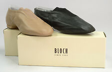 Bloch S0401 Slip On Split Sole Jazz Shoe for Girls and Ladies - NWB