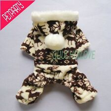 Soft Warm Dog Clothes For Dog Jumpsuit Dog Coat Dog Hoodie Pants Free Shipping