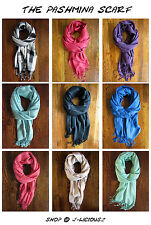 Pashmina Scarf - Wrap, Shawl, Scarf - Winter, Fall, Spring