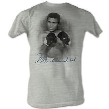 Muhammad Ali Classic Pose Boxing Gloves Licensed Tee Shirt Adult Sizes S-2XL