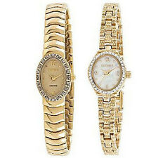Elgin EG9012/3 Women's Gold-Tone Watch-Choice of Two Styles!