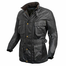 BANE THE DARK KNIGHT RISES - 100% REAL BLACK COW-HIDE LEATHER JACKET