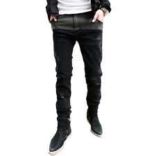 Men's Fashion Korean Classic Slim Fit Pants Straight Jeans Denim Trousers J058