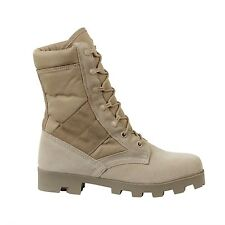 DESERT JUNGLE BOOTS MILITARY ARMY STYLE Panama Sole SIZES 5 TO 13
