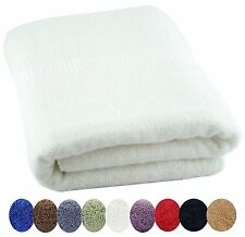 LUXURY COMBED COTTON BATH TOWEL HAND TOWEL OR WASHCLOTHS 600 gm ULTRA SOFT 2 Ply