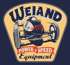 Weiand Belly Tanker Racer Retro T-shirt by Weiand Superchargers & Intakes