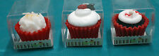 1-Novelty Candle~3-Kinds~Red-Velvet-Cupcakes~You-Choose~Chocolate Scented~Yummy