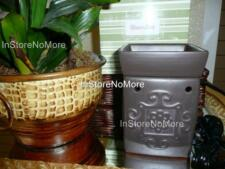 1 Scentsy FULL SIZE COLLECTIBLE Warmer BROWNSTONE Retired Discontinued RARE
