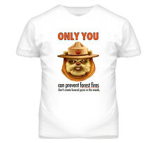 Funny Ewok Parody Only You Can Prevent Forest Fires Star Wars T Shirt