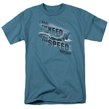 Licensed Top Gun Movie I Feel the Need, The Need for Speed Tee Shirt Adult S-3XL