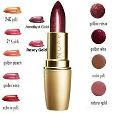 Avon Ultra Colour Rich 24K Gold Lipstick ~ Choose Your Shade ~ New & Sealed