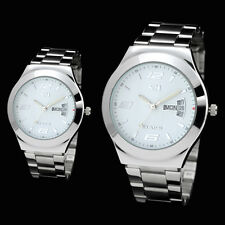 73009 STAINLESS STEEL BAND DAY CALENDAR DISPLAY LIGHT HANDS GIRLS LADIES WATCHES