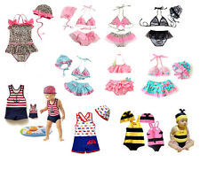 Boys Girls Swimming Costume (Summer Swimwear, Bikini) Age Baby 1 2 3 4 5 6 7 8