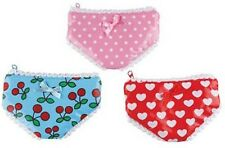 Cute and Kitsch Wallet Underpants Coin Purse Accessory Polka Heart Cherry Design