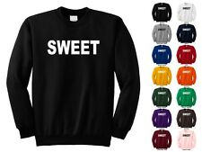 SWEET So Awesome Really Nice Kind Caring That's Great Funny Crewneck Sweatshirt