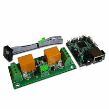 Ethernet / Internet 2 Channel Relay Board - IP, SNMP, HTTP(WEB)