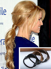 Celebrity Style Faux Hair Ponytail Holder Elastic Band Rope Hair band