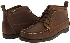 Men's * Eastland * Seneca Camp Moc Toe Chukka Boot Bomber Brown Leather
