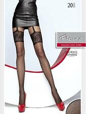 "MOCK SUSPENDER -TIGHTS-FIORE "" MURIEL"" 20 Denier- Imitating Hold Ups Style"