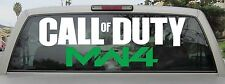 Call of Duty Modern Warfare 4 Sticker / Vinyl Decal in Various Sizes and Colors