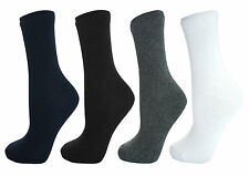 **BACK TO SCHOOL**Boys,Girls,Kids,Childrens,Unisex,Plain School Socks-4COLS/SIZE