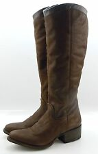 Charlie 1 Horse Lucchese I4826 Womens Western Riding Boots Tan Vintage Leather