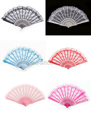 Charm 1pcs Chinese Wing Chun Style Dancing Fun Folding Lace Hand Fan