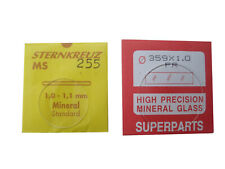 Precision Replacement Mineral Watch Glass  - 1mm Thickness - 18.1mm - 20.0mm