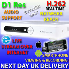 A108 8 CHANNEL CCTV DVR REAL TIME NETWORK READY VIDEO RECORDER 8CH 500GB 1TB HDD