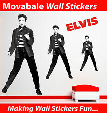 Elvis Wall Stickers - Totally Movable - BUY NOW!