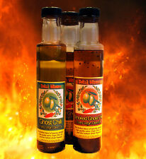 Chilli Wizards HOT Extra Virgin Ghost Pepper Olive Oil. Standard or Smoked
