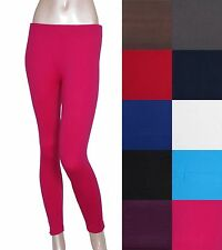 Solid Full Length Seamless Stretch spandex  Long Leggings Footless Skinny Pants