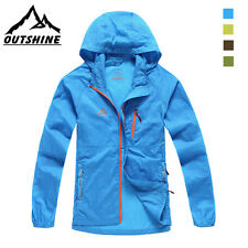 Mens Cycling Coat Extra-light Ultra-thin Skin Outdoor Jacket Water-resistance