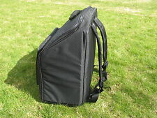 Deluxe Italian Accordion Soft Case - Semi Rigid Back carrying straps - Italcinte