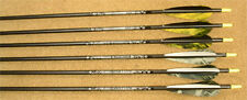 Easton Aluminum Gamegetter II hunting arrows 1/2 doz with feathers