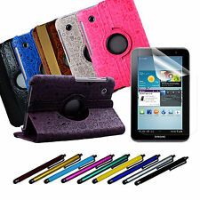 3-in-1 PU Leather Case Stylus pen Screen protector for Samsung Galaxy Tab P3110