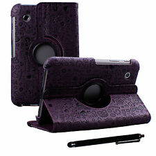 Cartoon Lovely PU Leather Case and Stylus pen for Samsung Galaxy Tab 2 7in P3110