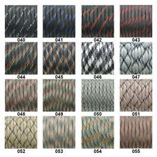 550 Paracord Parachute Cord Lanyard Mil Spec Type III 7 Strand 45 Camo Colours