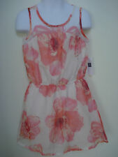 GAP KIDS GIRLS PINK AND WHITE FLORAL DRESS Size XS,S,M NWT