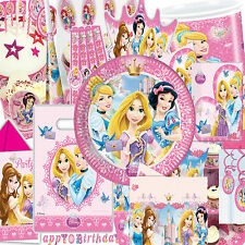 Disney Princess Sparkle Children's Party Decorations Tableware all 18 items here