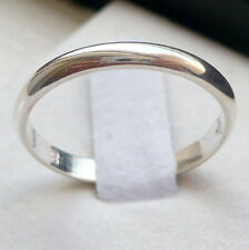 3mm 925 STERLING SILVER MEN'S/WOMEN'S WEDDING BAND RING SIZE 5-13 FREE ENGRAVING