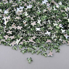 10000PCS Butterfly 3D Acrylic Nail Art DIY Decoration Flat Back Rhinestones Gems