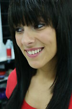 Easy Clip On In BANGS! 100% Remy Human Hair Extensions - All Colors!