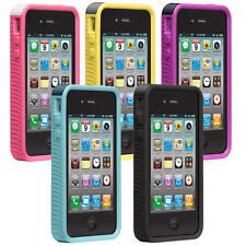 CASE-MATE  POP ! CASE WITH STAND FOR APPLE IPHONE 4/4S - 5 COLORS CHOOSE ANY ONE