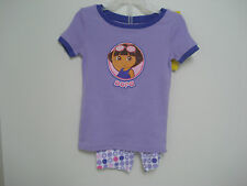 OLD NAVY GIRLS PURPLE DORA PAJAMAS 2 PEICE SIZE 12-18 mos NWT